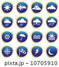 気象 ウォーター 天気のイラスト 10705910