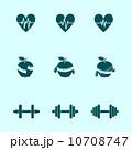 アプリケーション アイコン ピクトグラムのイラスト 10708747