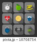 アプリケーション アイコン ピクトグラムのイラスト 10708754