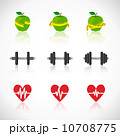 アプリケーション アイコン ピクトグラムのイラスト 10708775