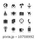 Tourism travel interface elements 10708992