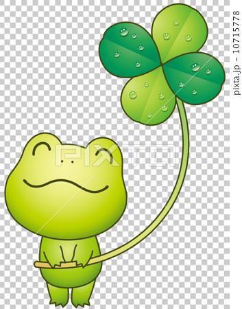 青蛙和四葉三葉草 10715778