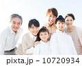 三世代 笑顔 親子の写真 10720934