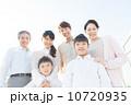 三世代 笑顔 親子の写真 10720935