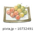 団子 串団子 州浜のイラスト 10732491