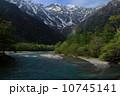 穂高連峰 梓川 川の写真 10745141