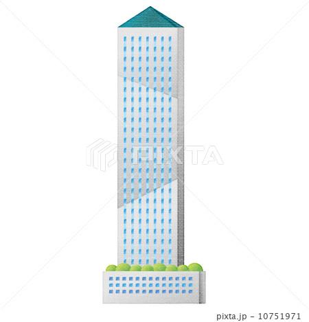 ランドマーク ランドマークタワー 建物のイラスト素材 10751971 Pixta