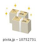 お金 一万円札 紙幣のイラスト 10752731