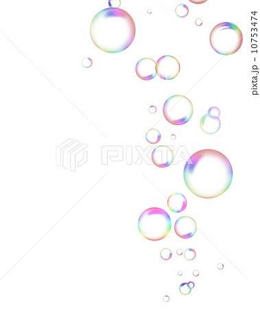 シャボン玉のイラスト素材 [10753474] - PIXTA