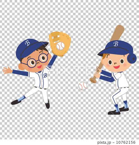 儿童和棒球 10762156