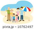 家族で海 10762497