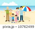 家族で海 10762499