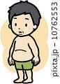 肥満 メタボリック症候群 ベクターのイラスト 10762553