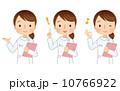 ナース 看護婦 看護師のイラスト 10766922