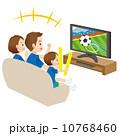スポーツ観戦 スポーツ中継 TVのイラスト 10768460