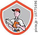 ビルダー 建築業者 建設業者のイラスト 10775496