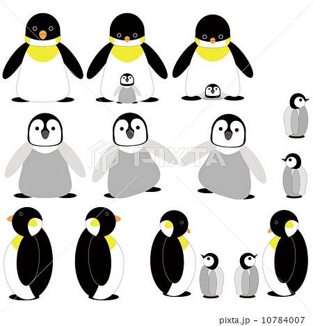 皇帝ペンギンのイラスト素材 10784007 Pixta