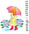 傘をさす女の子 10791653