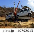 レッカー 自動車 クレーンの写真 10792013