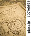 世界地図 インド 古地図の写真 10796653