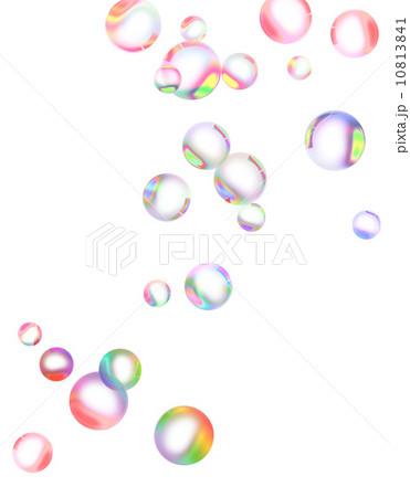 カラフルシャボン玉のイラスト素材 [10813841] - PIXTA