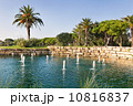 Luxury Fountain Lake in the park golf course in Portugal. 10816837