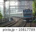 京浜東北線 電車 カーブの写真 10817789