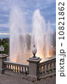 Magic fountain near Catalonian national museum MNAC . 10821862