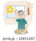 熱中症 人物 男性のイラスト 10831087