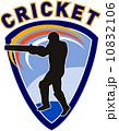 クリケット 男 男性のイラスト 10832106