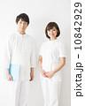 医療 看護士 人物の写真 10842929