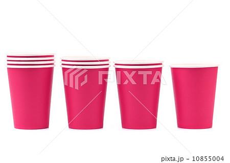 Colorful paper coffee cup.の写真素材 [10855004] - PIXTA