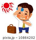 熱中症になりそうなビジネスマン 10864202