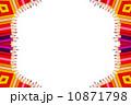 区域 国境 境界線のイラスト 10871798
