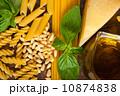 Italian basil pesto pasta ingredients 10874838