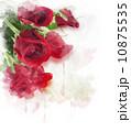 花 バラ 赤のイラスト 10875535