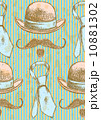 アパレル アクセサリー アートのイラスト 10881302