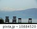 空と山と椅子とリラックス 10884520