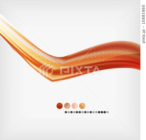 Abstract Blurred Waves In The Airのイラスト素材 [10885860] - PIXTA
