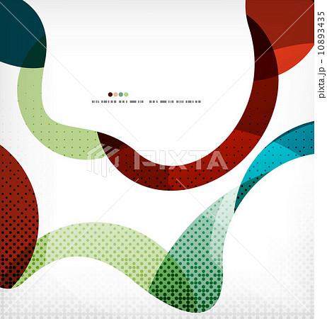 Colorful swirl wave linesのイラスト素材 [10893435] - PIXTA