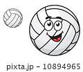 バレー バレーボール 球のイラスト 10894965