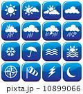 気象 ウォーター 天気のイラスト 10899066