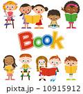 子供達 書籍 ベクターのイラスト 10915912