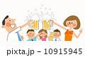 ビールで乾杯 10915945