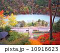 秋 奥大井湖上駅 紅葉の写真 10916623