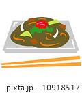 ソース焼きそば 食べ物 焼きそばのイラスト 10918517
