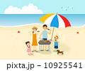 家族で海 10925541