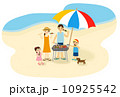 家族で海 10925542