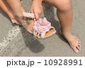 砂浜 サンダル 10928991