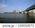 百道浜 室見川 河口の写真 10930873